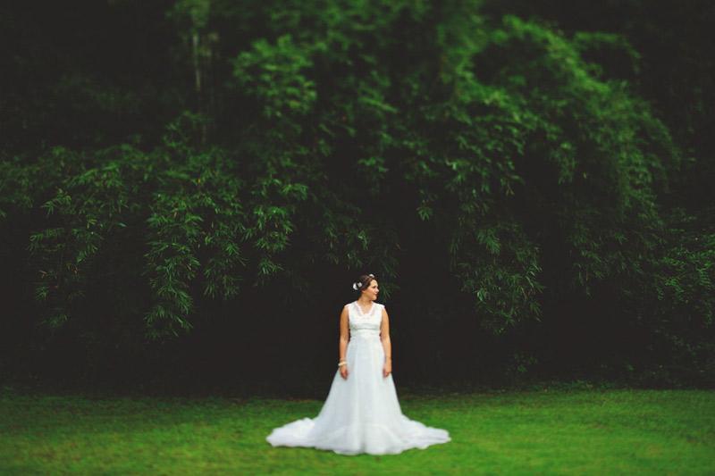 bride outside portraits