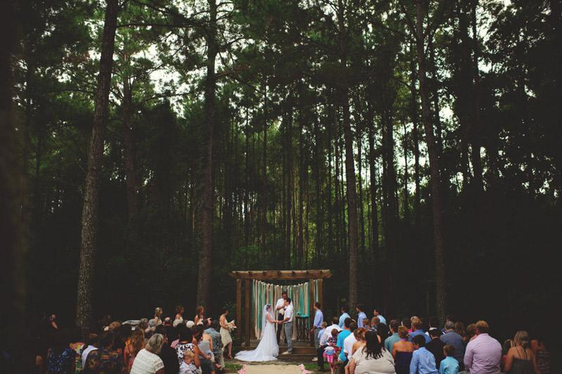 the glen venue wedding: ceremony
