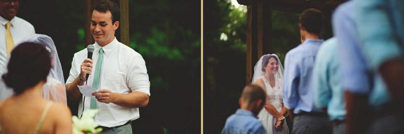 the glen venue wedding: vows