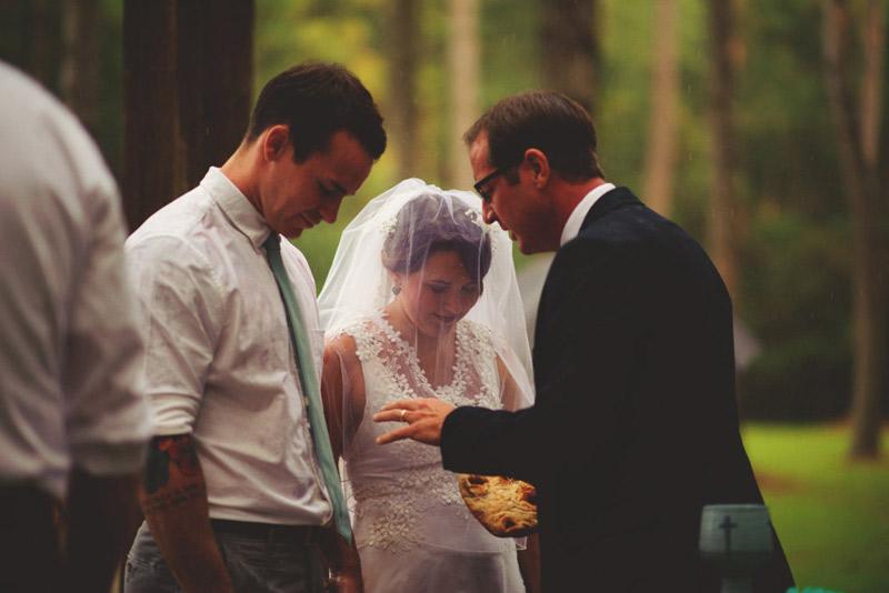 the glen venue wedding: communion