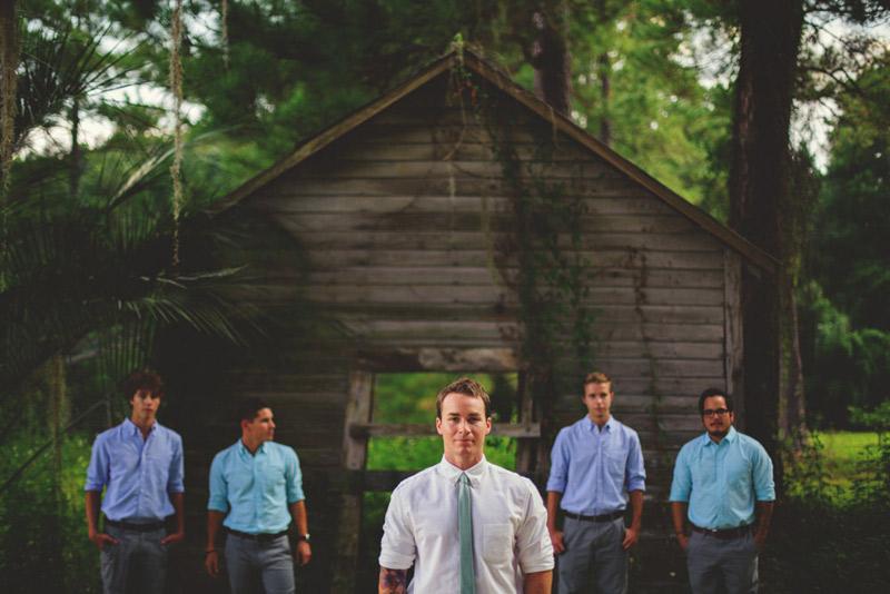 the glen venue wedding: groomsmen portraits