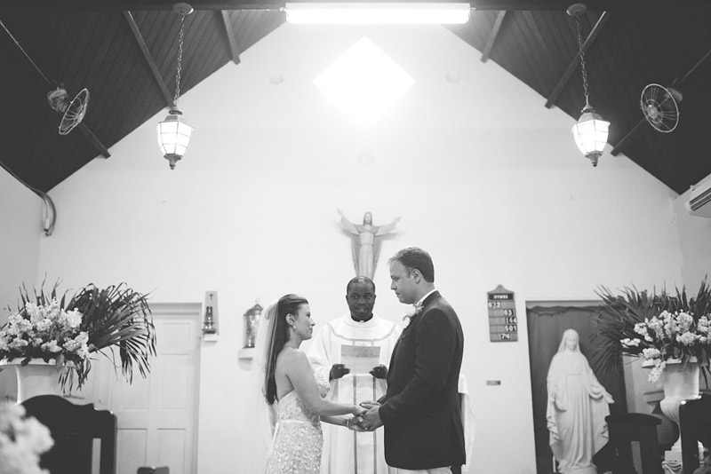 harbour island bahamas wedding: ring exchange