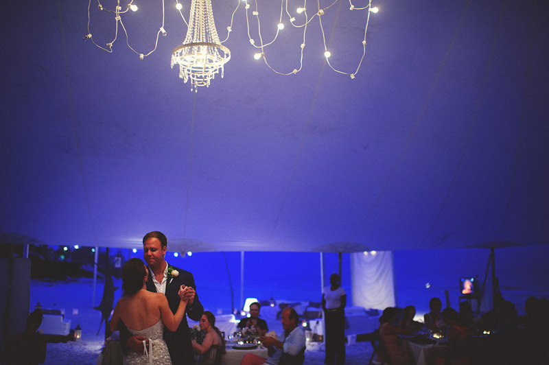 harbour island bahamas wedding: first dance
