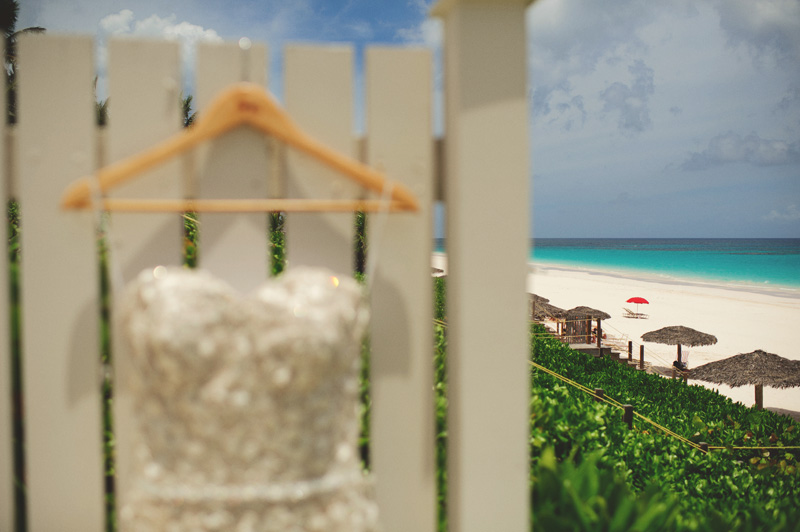 harbour island bahamas wedding: dress beach