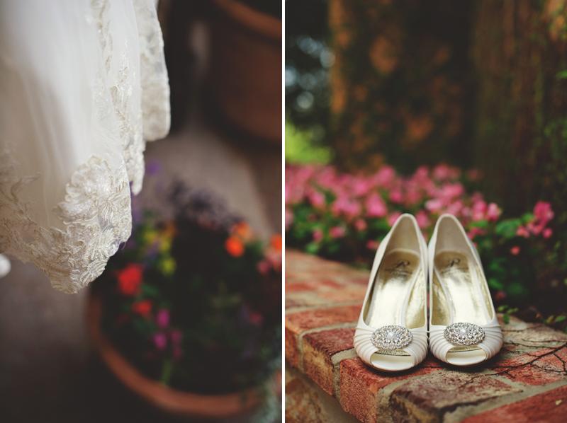 bella collina wedding: shoes