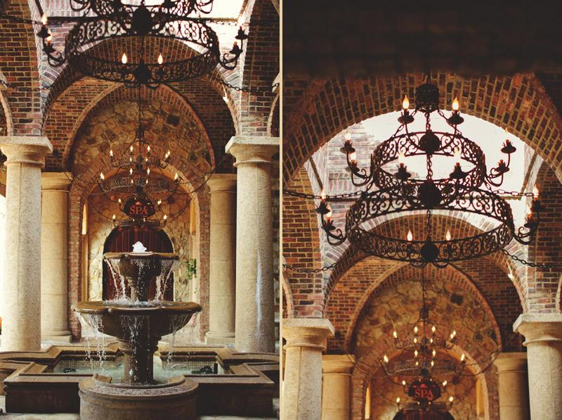 bella collina wedding: atrium