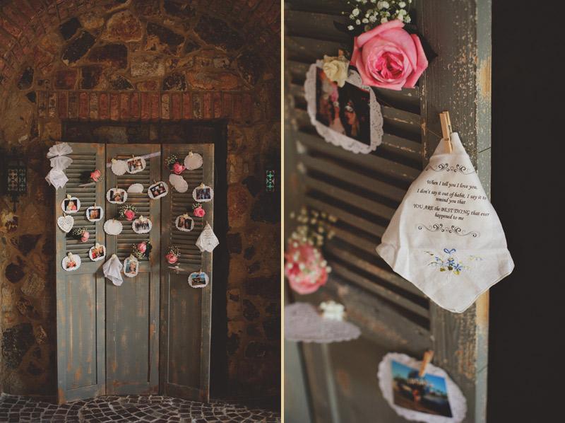 bella collina wedding: ceremony details
