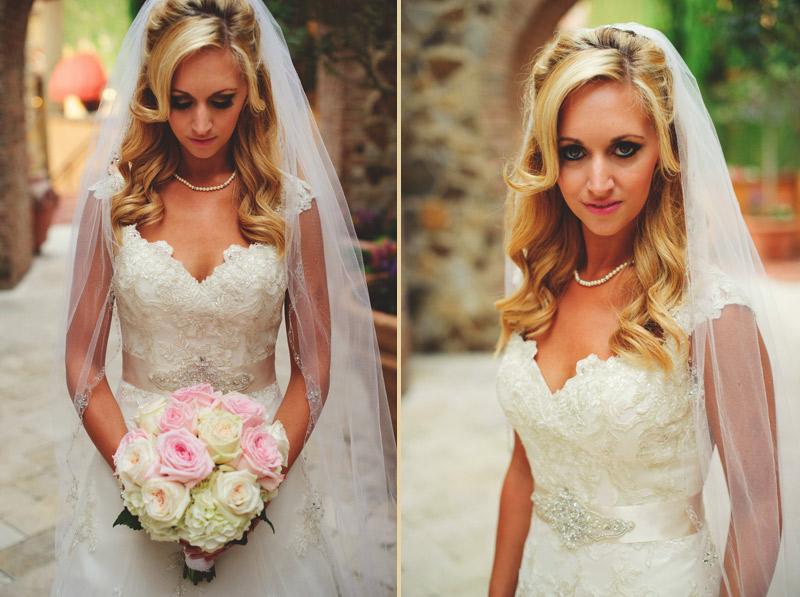 bella collina bridal portraits