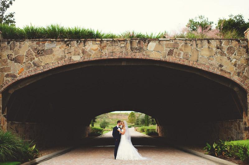 bella collina wedding: bridge photos