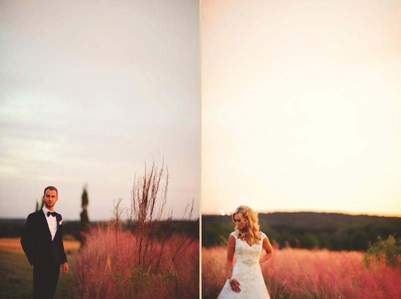 bella collina wedding: lorraine craig lea