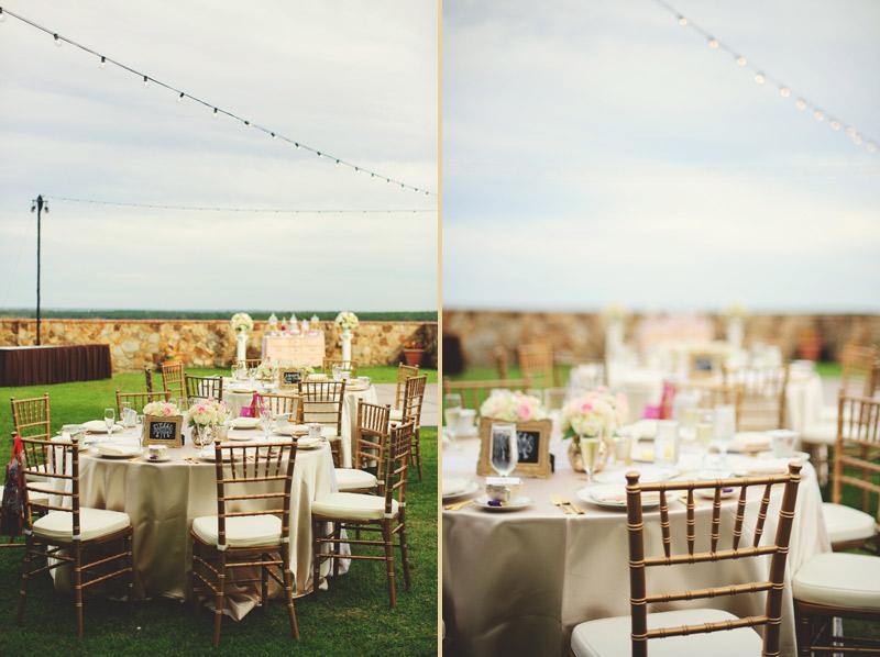 bella collina wedding: chavari chairs and market lights