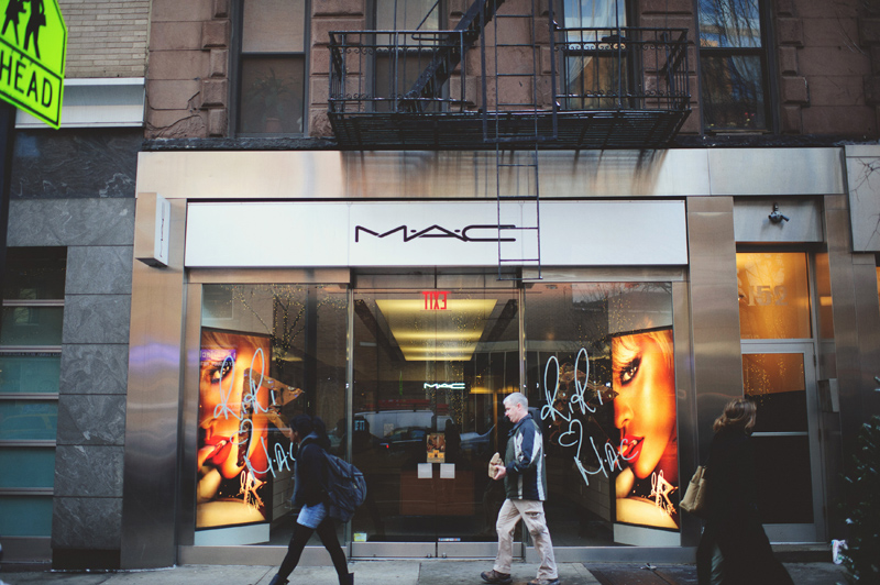 MAC wedding makeup NYC