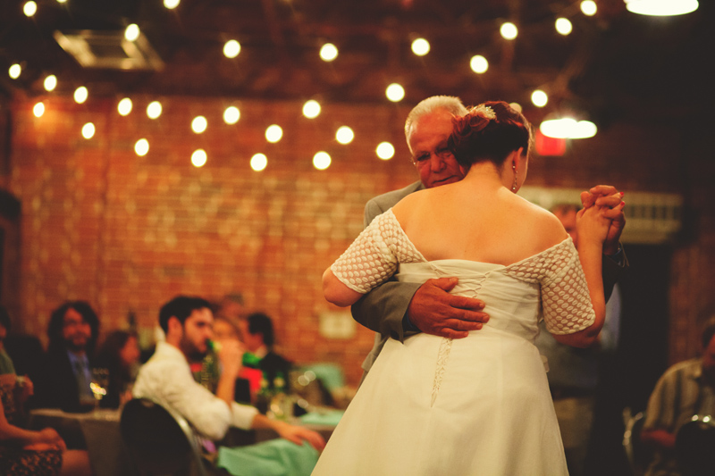 winter park farmers market wedding: father daughter dance