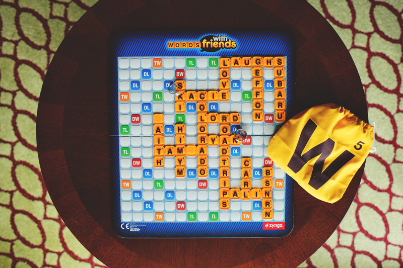 words with friends wedding