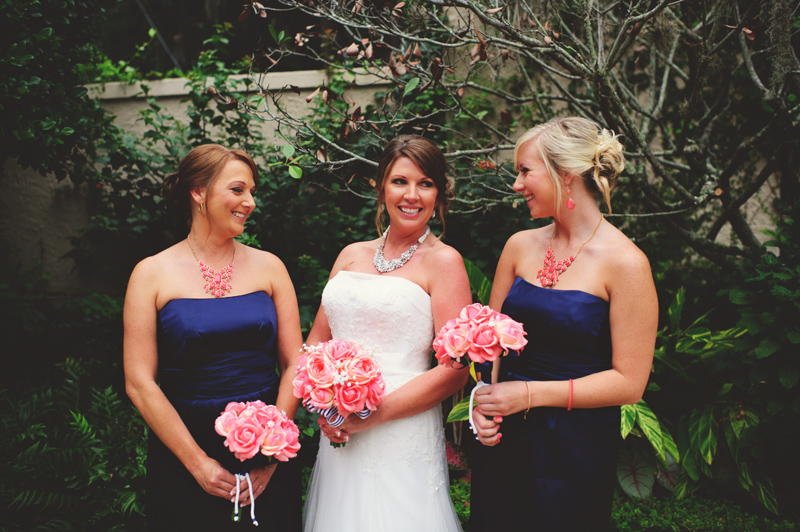 the club continental wedding: bridesmaids