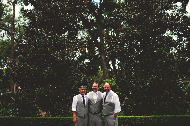 the club continental wedding: groomsmen