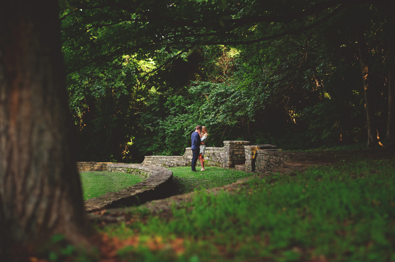 downtown nashville wedding: percy warner park