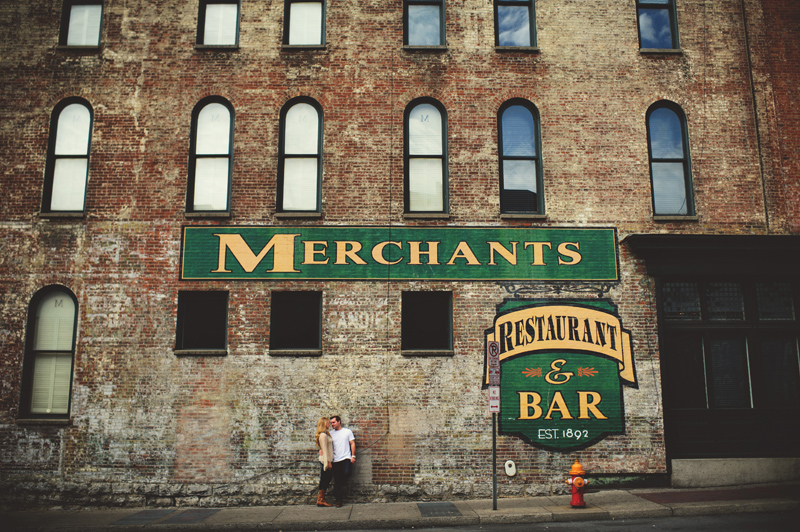 downtown nashville wedding: merchants resturant
