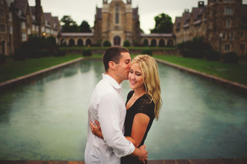 romantic engagement photos rome ga