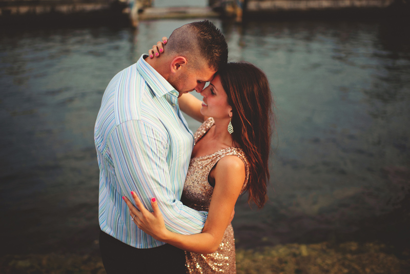 vizcaya museum engagement: sweet moment