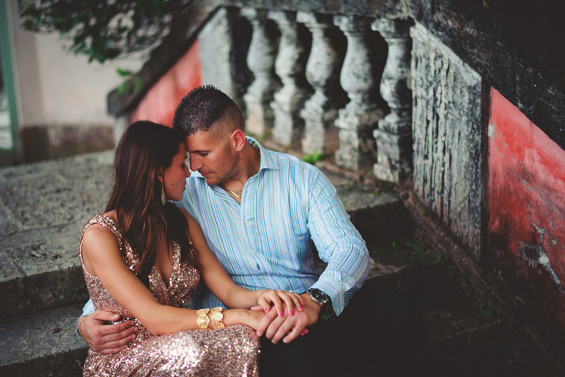vizcaya museum engagement: in love