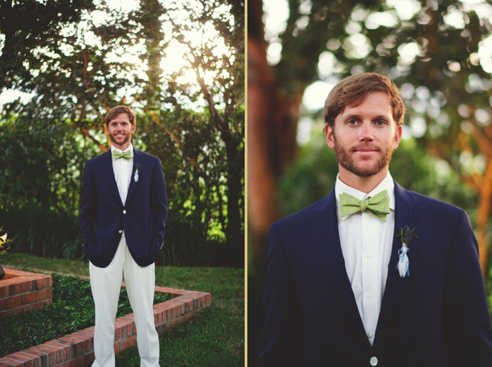 boho backyard wedding naples: groom photos