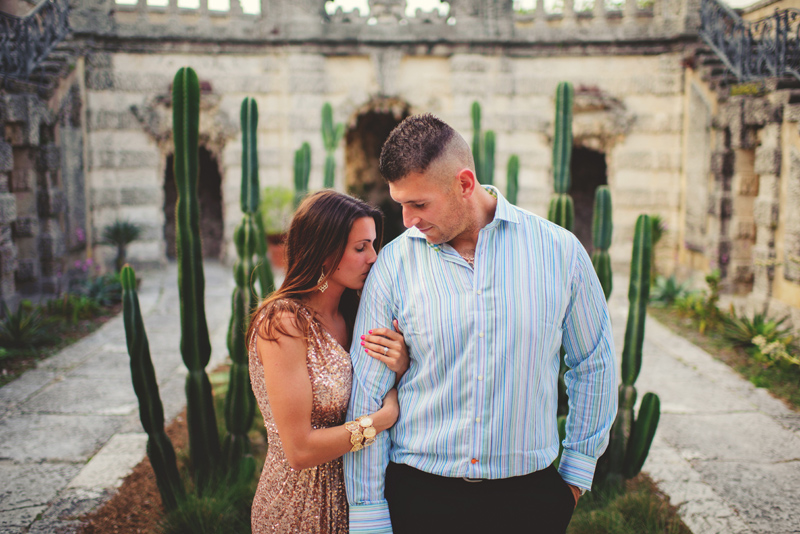 vizcaya engagement photographer