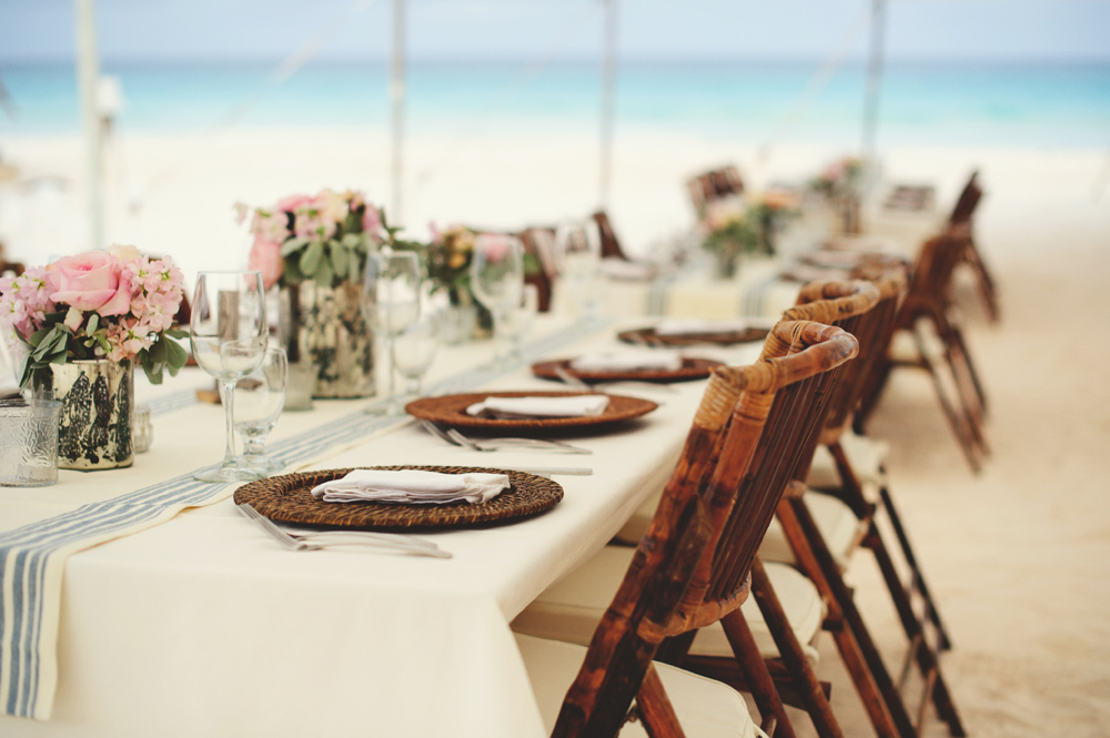 harbour island wedding decor