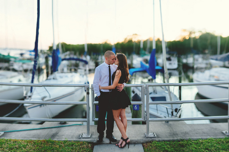 sexy tampa engagement photos