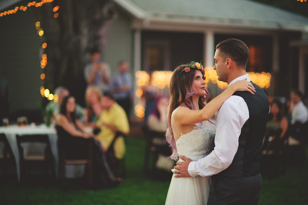 St Pete Backyard Wedding
