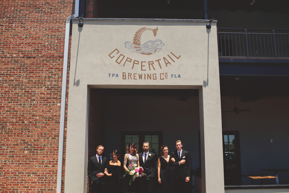 tampa brewery wedding