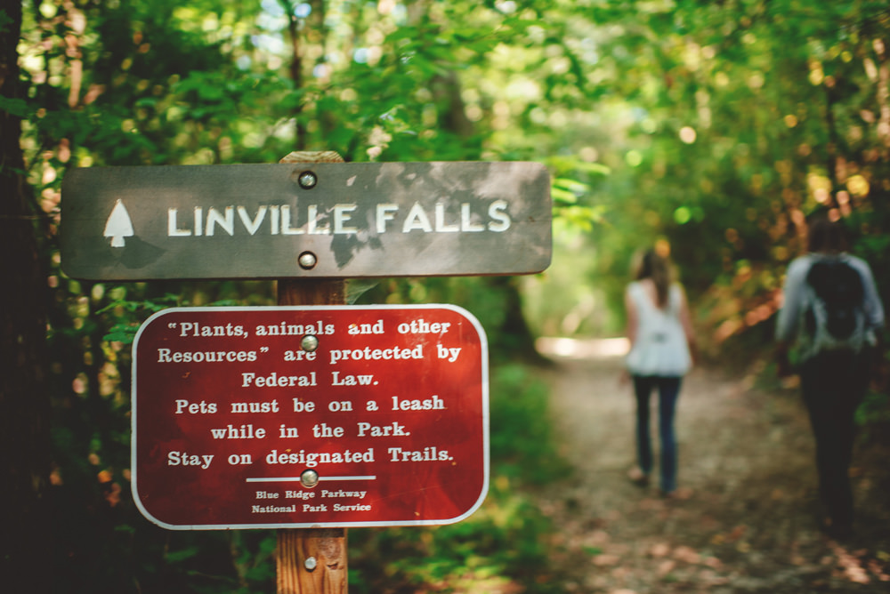 linville falls engagement