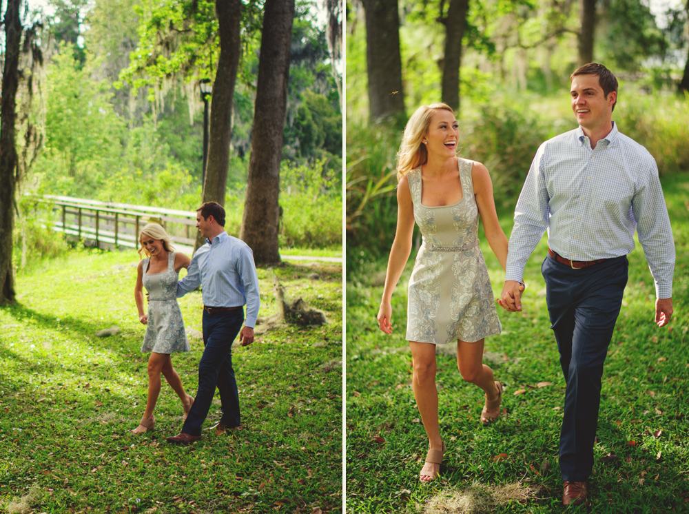 intimate san antiono engagement : walking