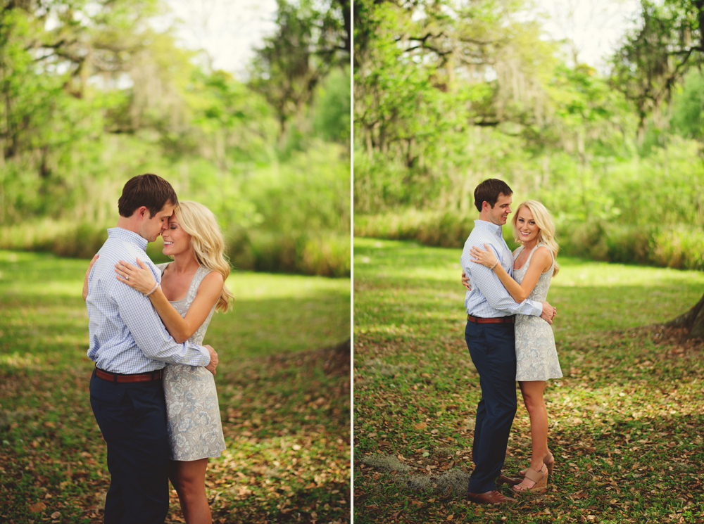 romantic san antonio engagement photos