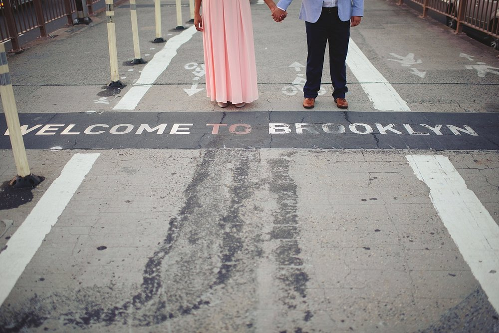 welcome to the brooklyn bridge
