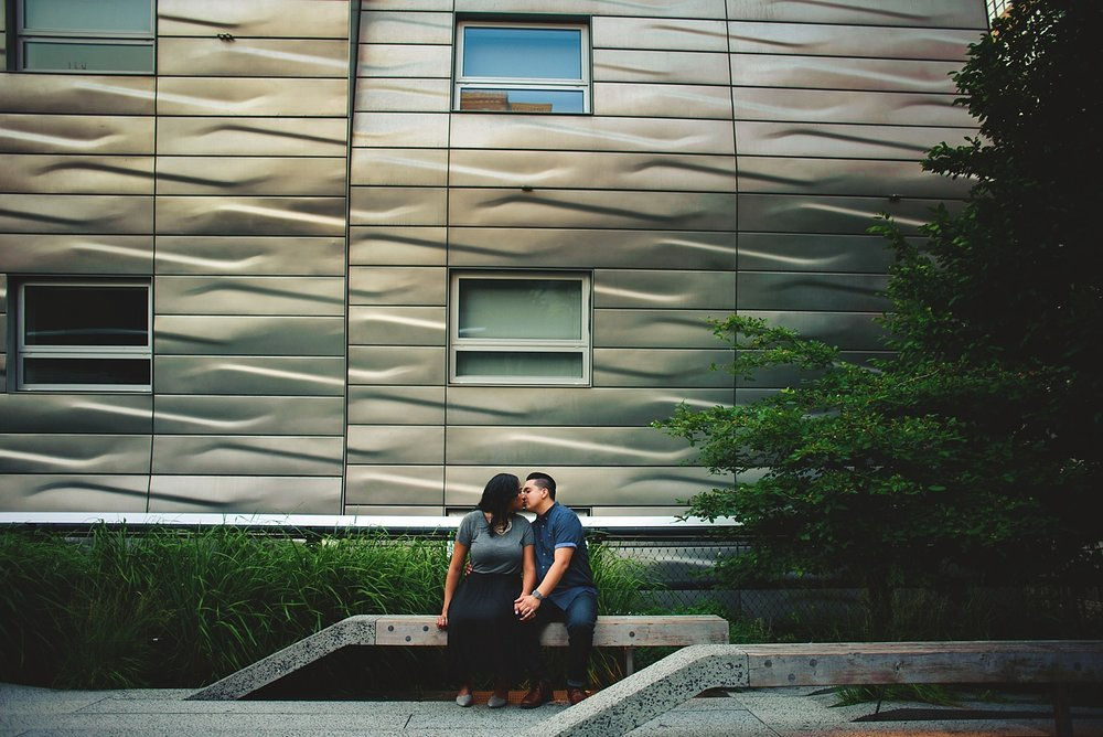 highline engagement photographer