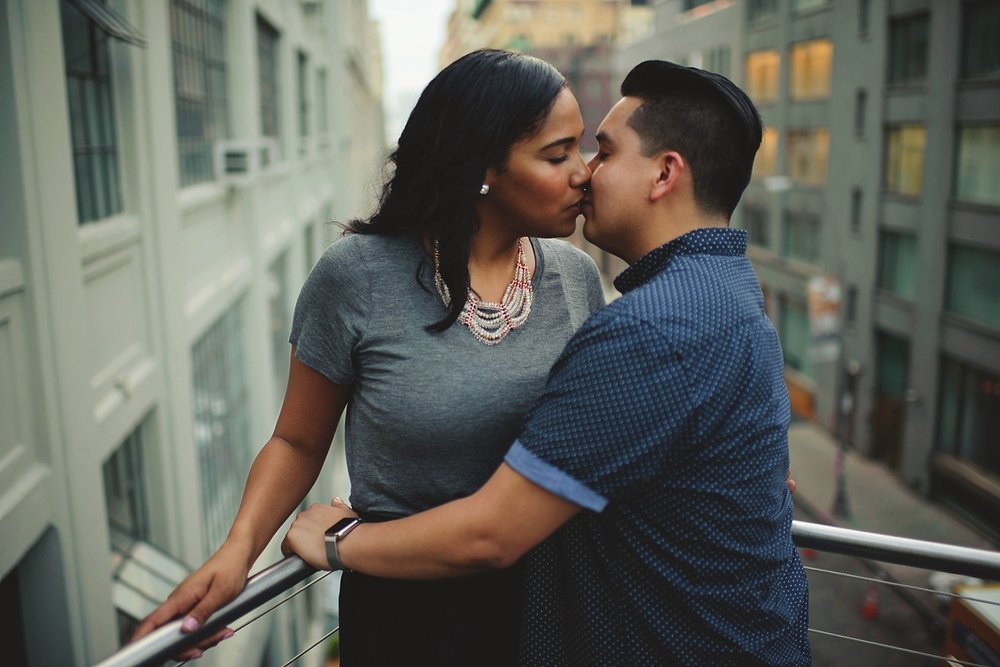 engagement photos taken on highline