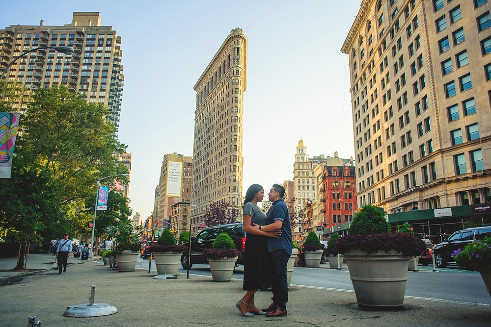 flatiron engagement photos