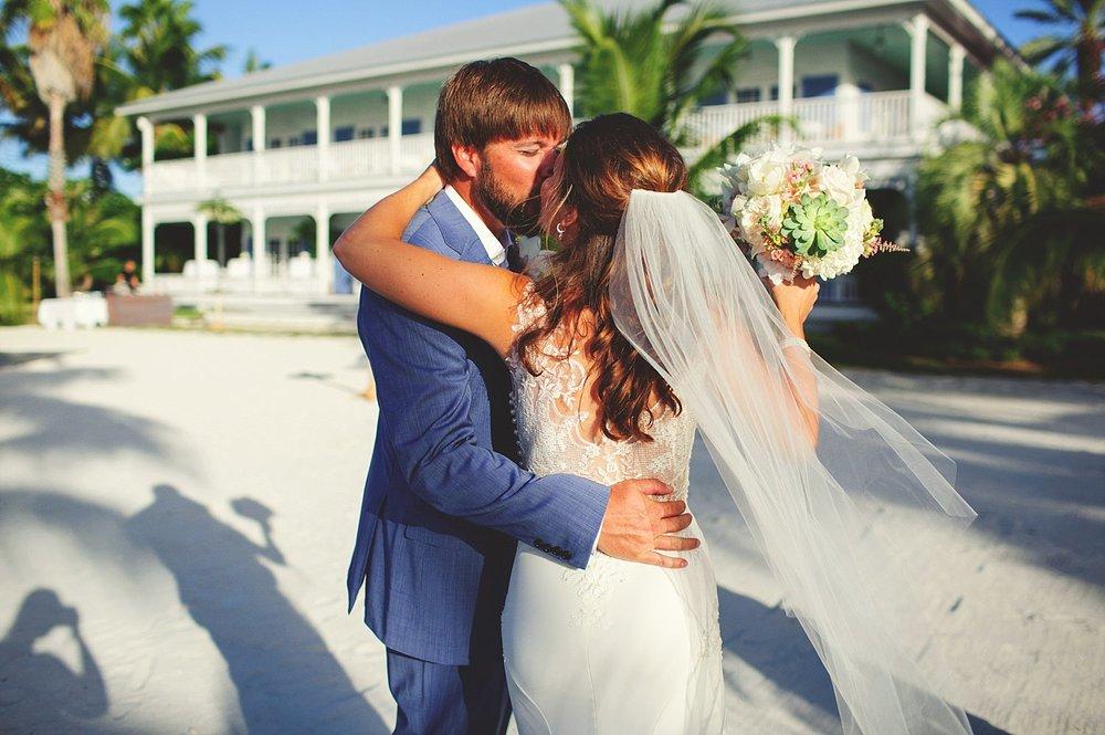 pierre's restaurant wedding: happy bride and groom