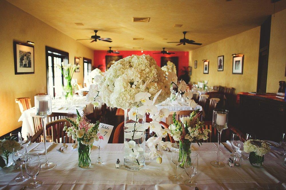pierre's restaurant wedding: dinner reception