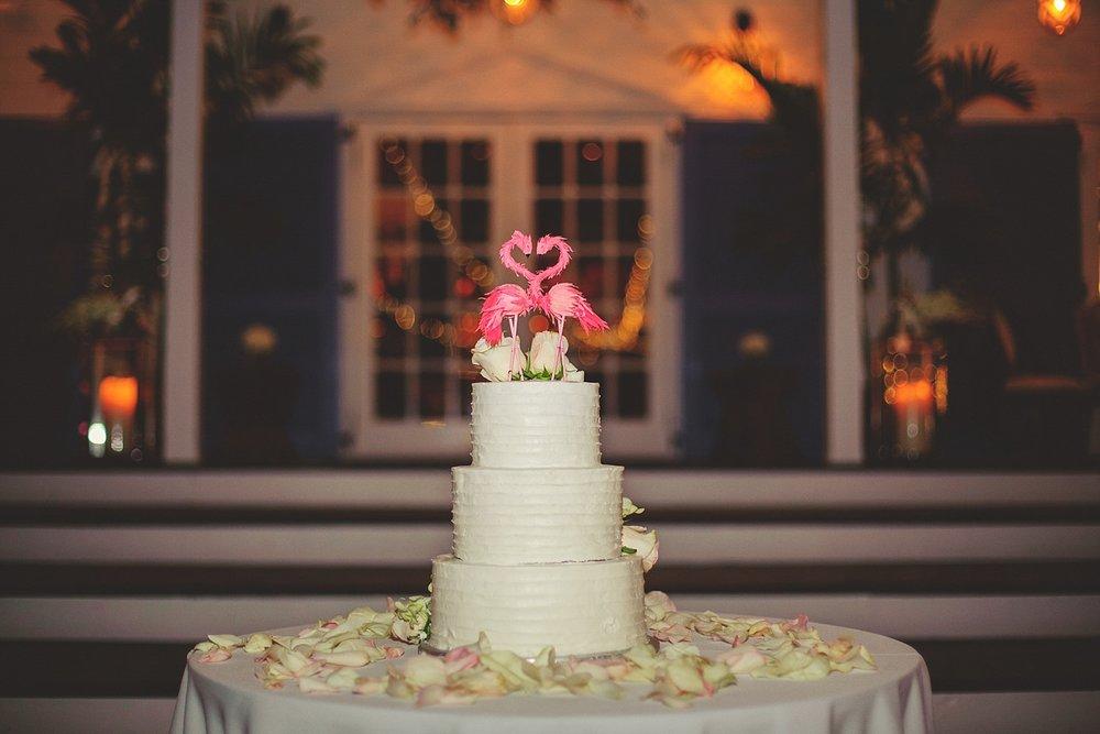 pierre's restaurant wedding: cake