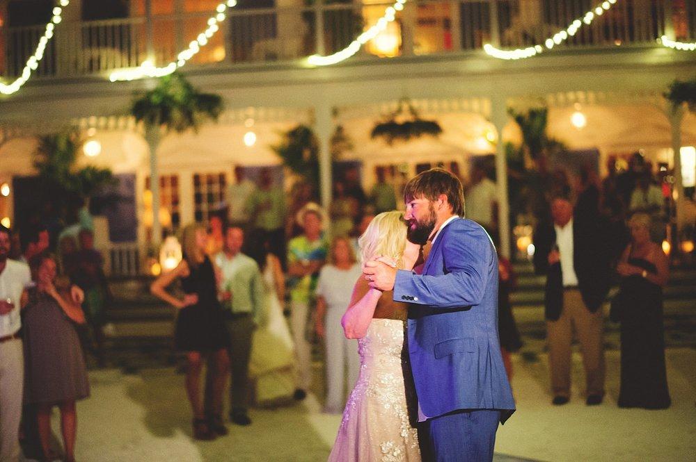 pierre's restaurant wedding: mother son dance