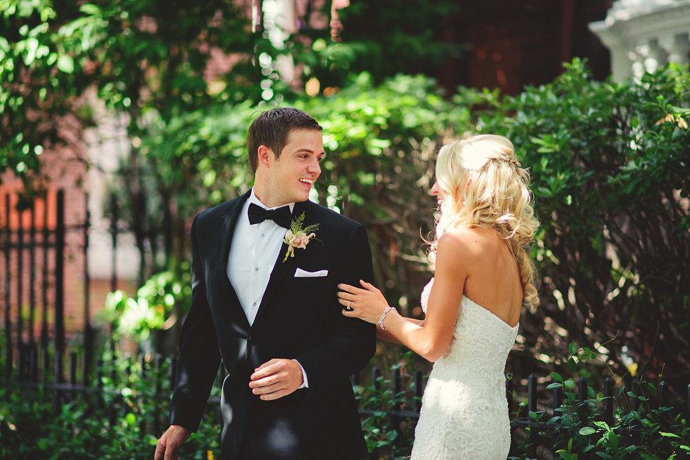 Harper Fowlkes House wedding: first look