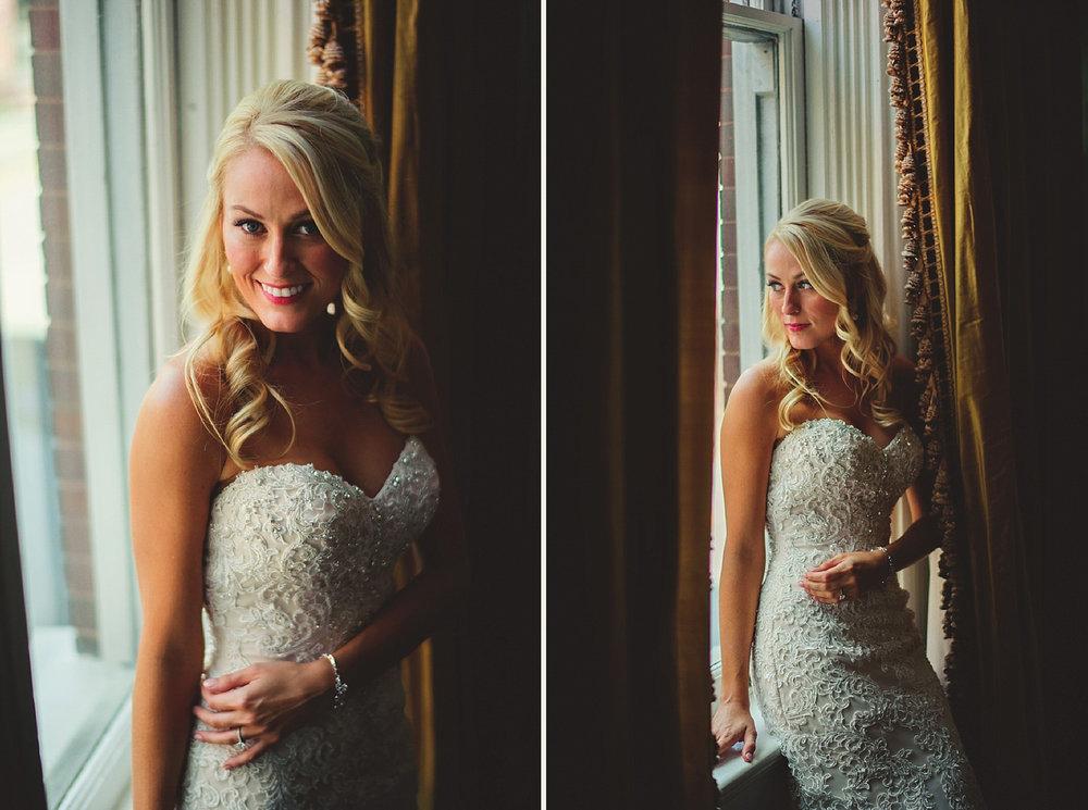 Harper Fowlkes House Wedding: bridal portraits