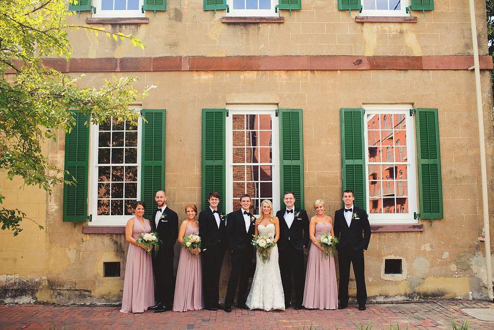 Harper Fowlkes House Wedding: bridal party