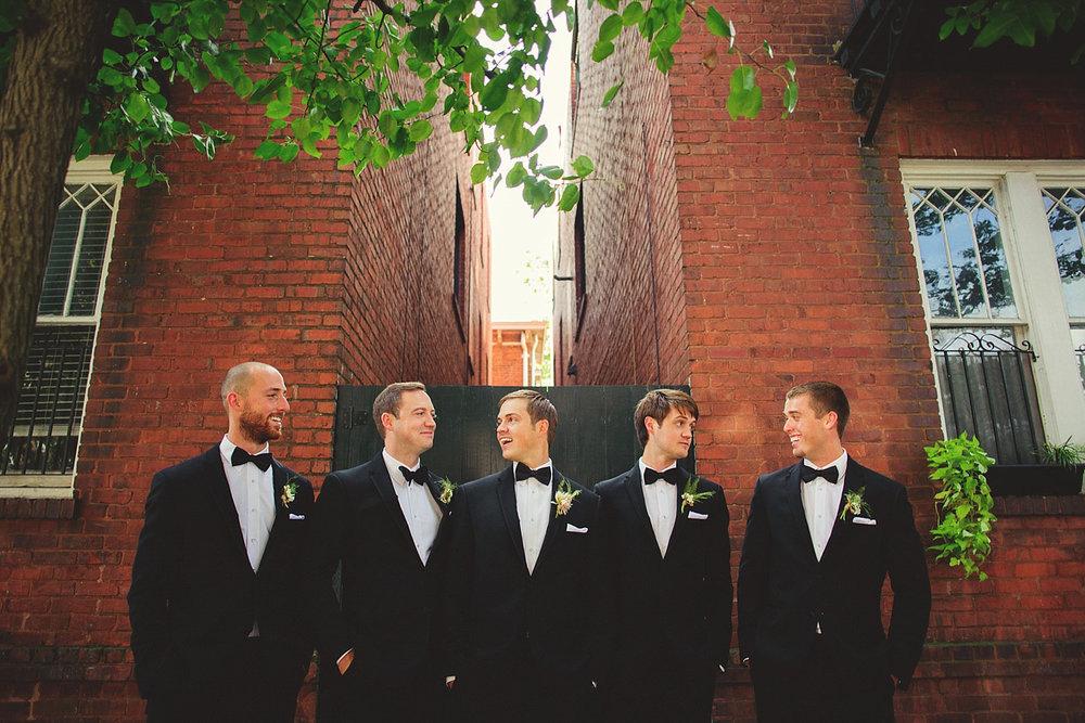 Harper Fowlkes House Wedding: groomsmen