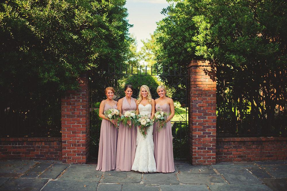 Harper Fowlkes House Wedding: bridesmaids