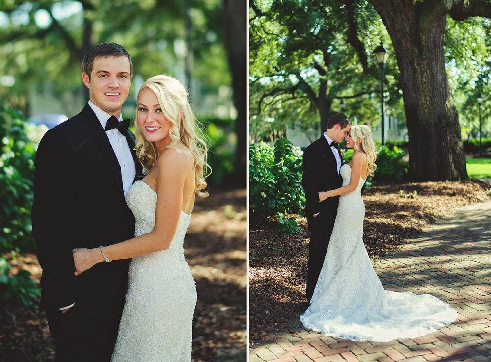 Harper Fowlkes House Wedding: square portraits