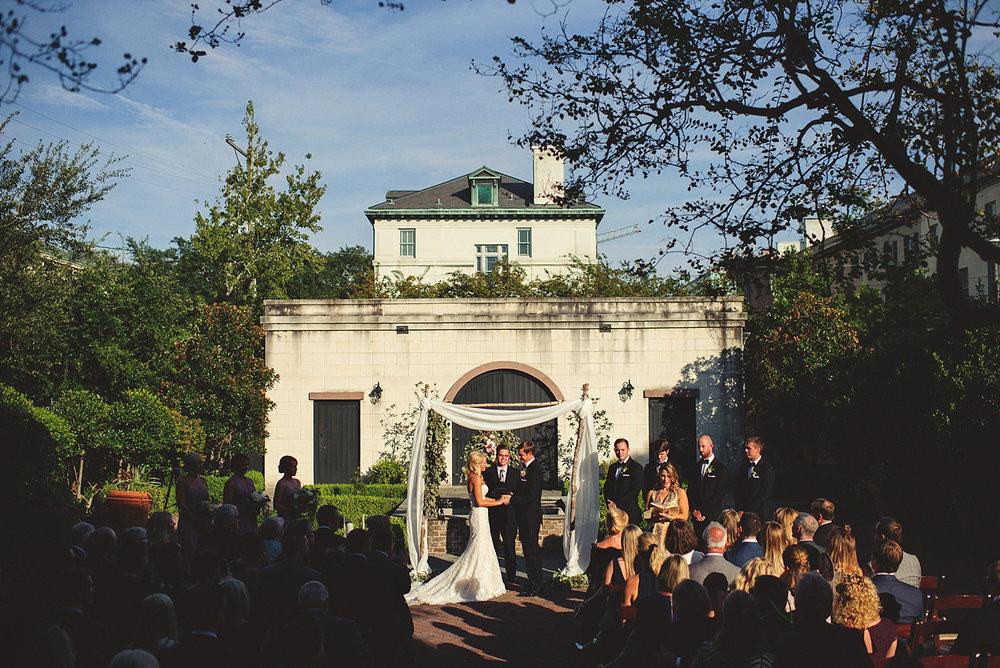 Harper Fowlkes House Wedding Ceremony