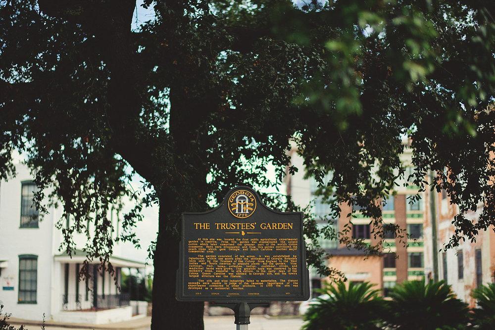 trustees garden sign